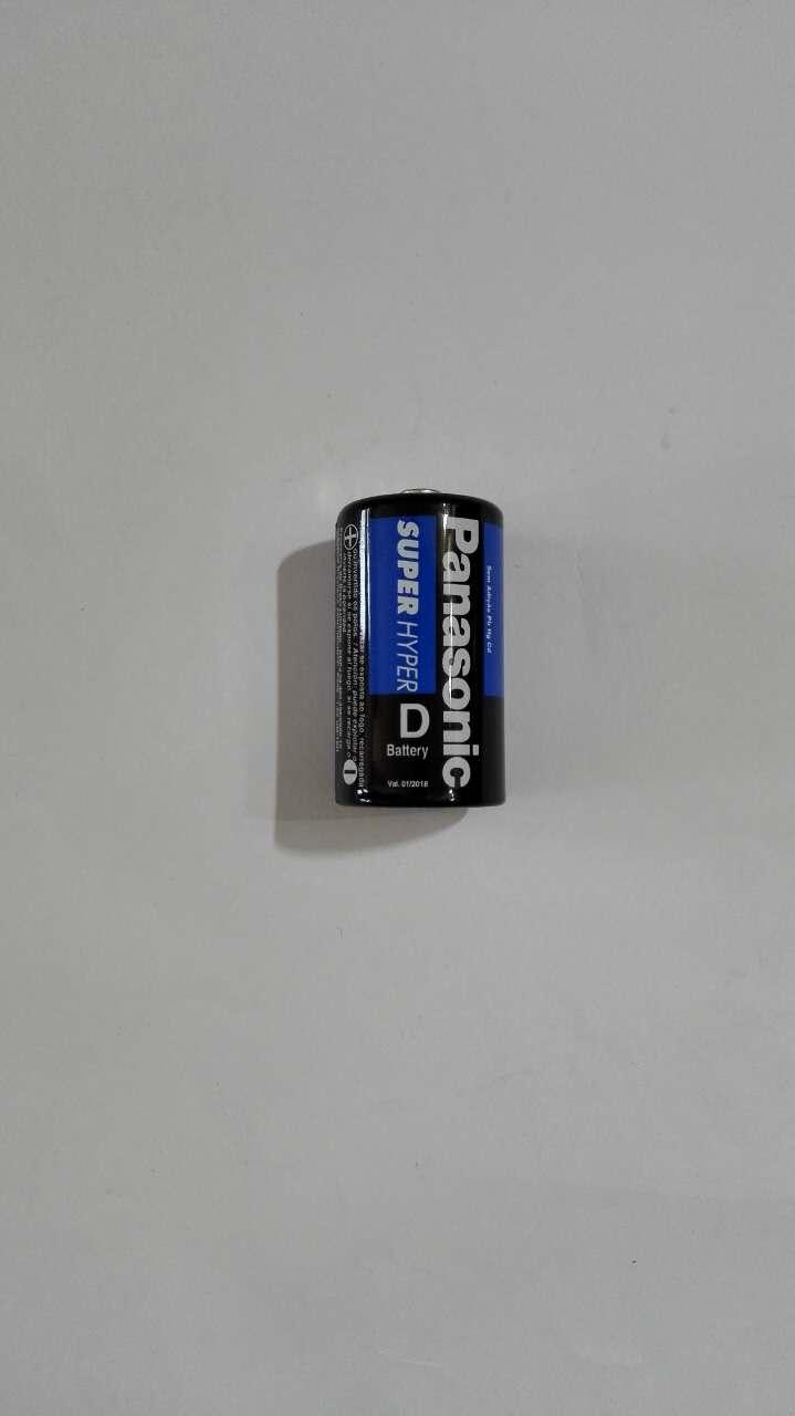 Pilha D Super Hyper R20 1.5V Panasonic Unidade (Cód:200339)